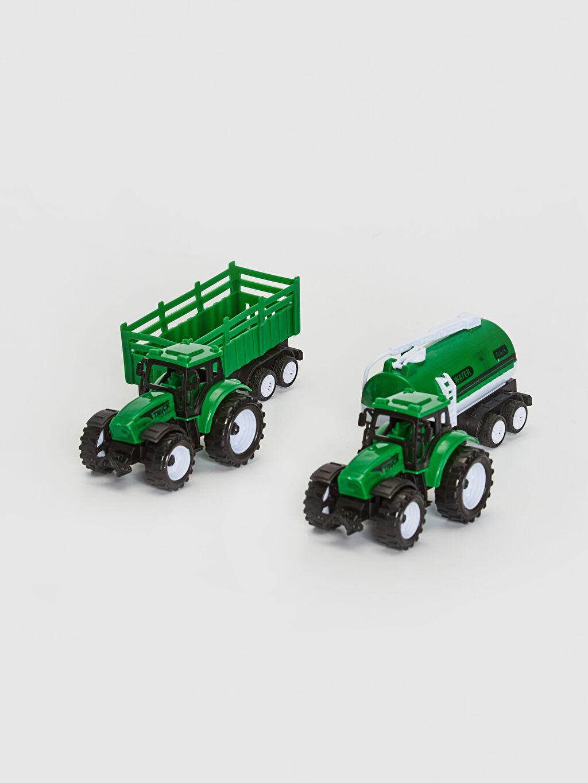 Erkek Çocuk Oyuncak Traktör 2'li