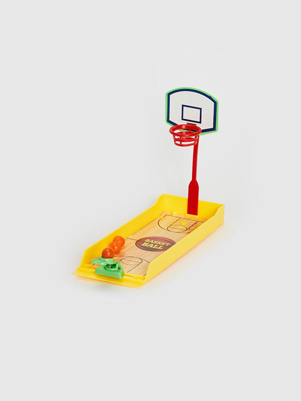 Erkek Çocuk Oyuncak Mini Basketbol ve Futbol Oyunu