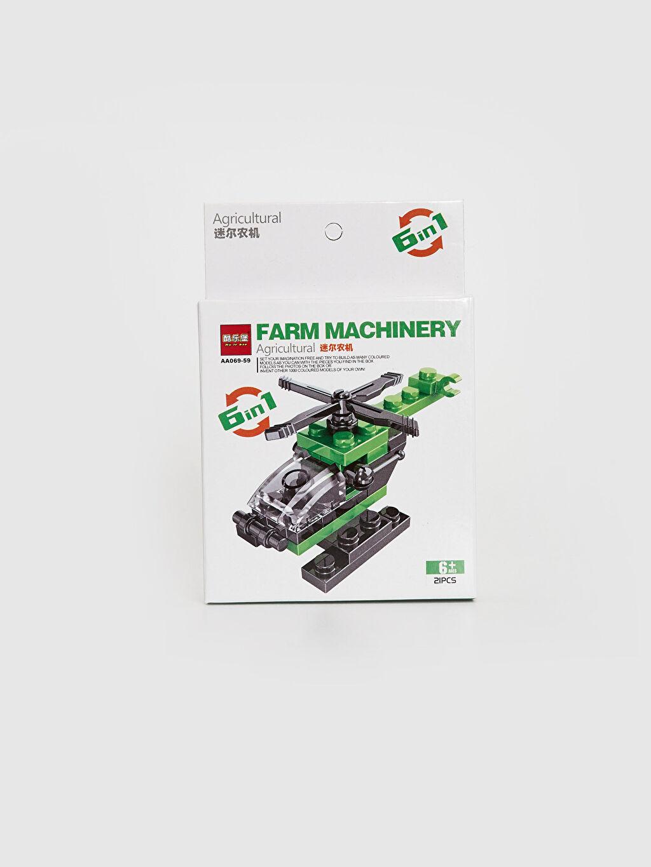 Çok Renkli Oyuncak Tarım Makinesi 0SU128Z4 LC Waikiki