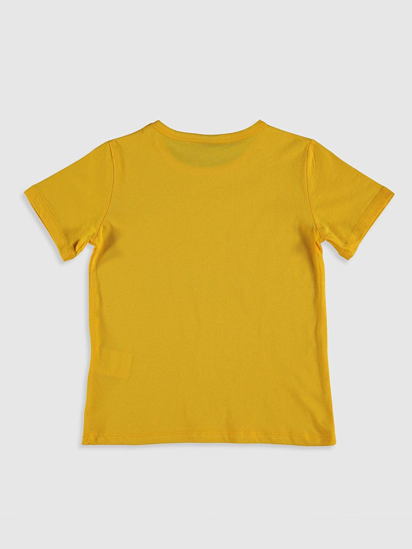 %100 Pamuk %100 Pamuk Standart Baskılı Tişört Kısa Kol Bisiklet Yaka Erkek Çocuk Baskılı Pamuklu Tişört