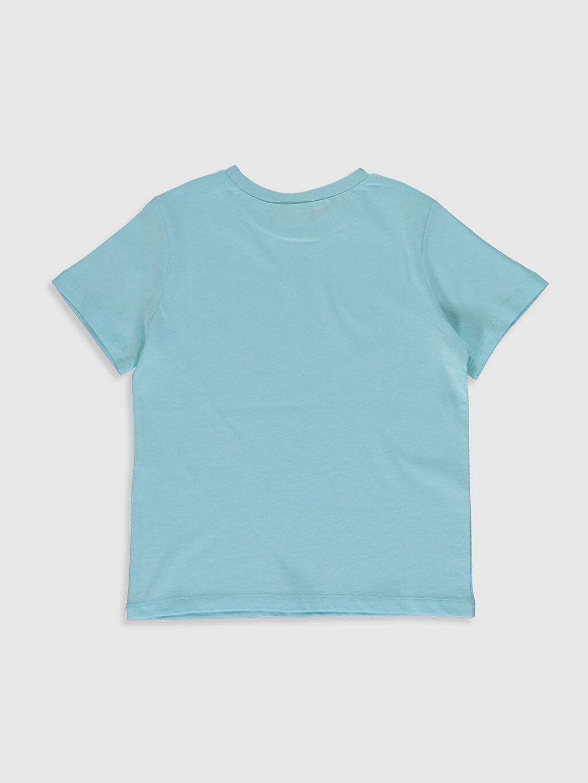 %100 Pamuk Tişört Bisiklet Yaka Kısa Kol Süprem Standart Baskılı Kız Çocuk Baskılı Pamuklu Tişört