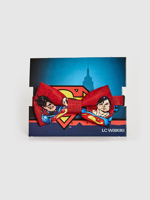 Kırmızı Erkek Çocuk Süperman Lisanslı Papyon 0SU870Z4 LC Waikiki