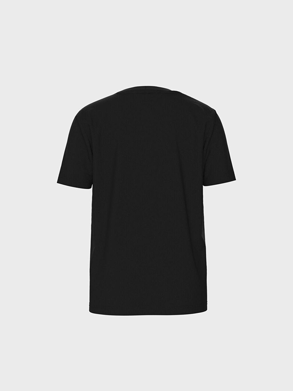 LC Waikiki Siyah Erkek Çocuk Atatürk Baskılı ve İmzalı Pamuklu Tişört