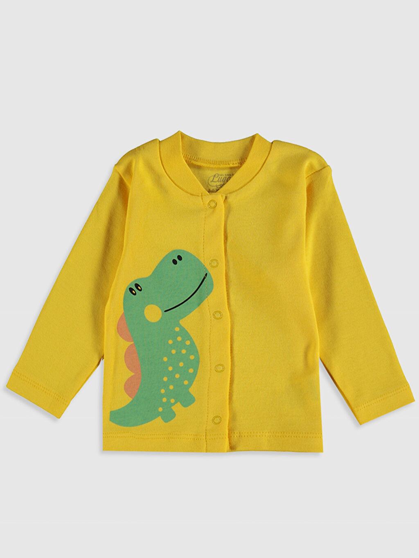 Erkek Bebek Luggi Baby Yenidoğan Baskılı Pijama Takımı