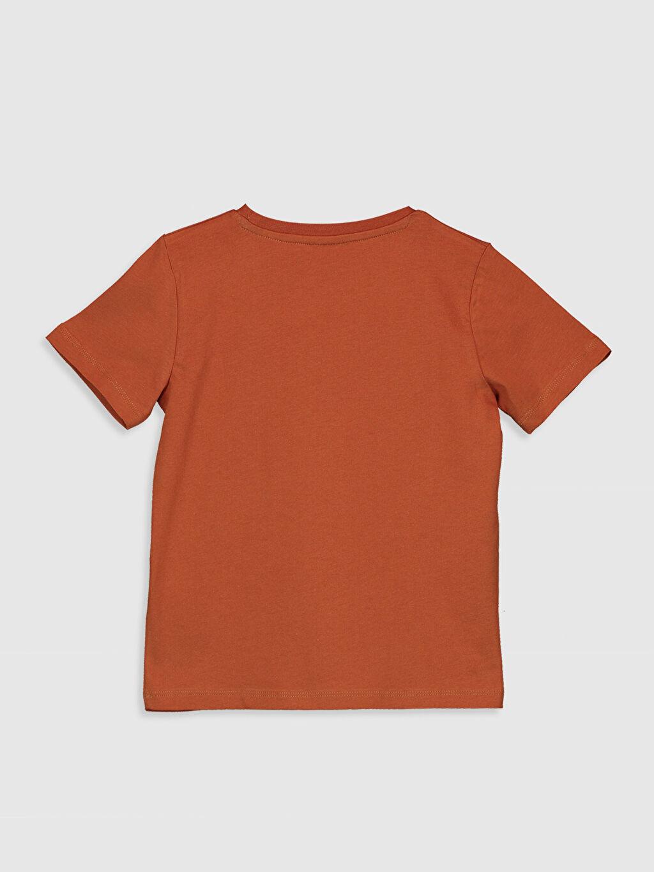 %100 Pamuk %100 Pamuk Tişört Bisiklet Yaka Kısa Kol Süprem Standart Baskılı Erkek Çocuk Yazı Baskılı Pamuklu Tişört
