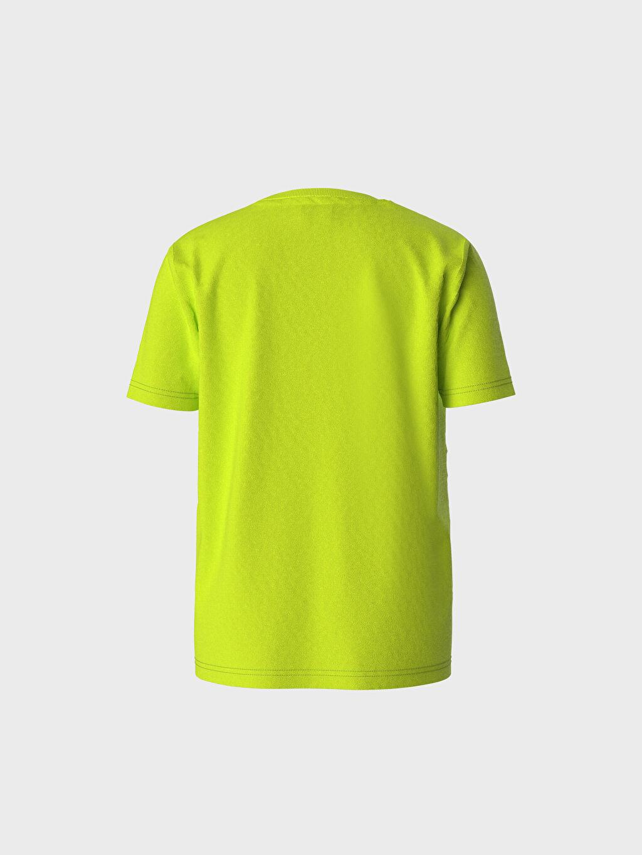 %100 Pamuk %100 Pamuk İnce Tişört Bisiklet Yaka Kısa Kol Süprem Standart Baskılı Erkek Çocuk Baskılı Pamuklu Tişört