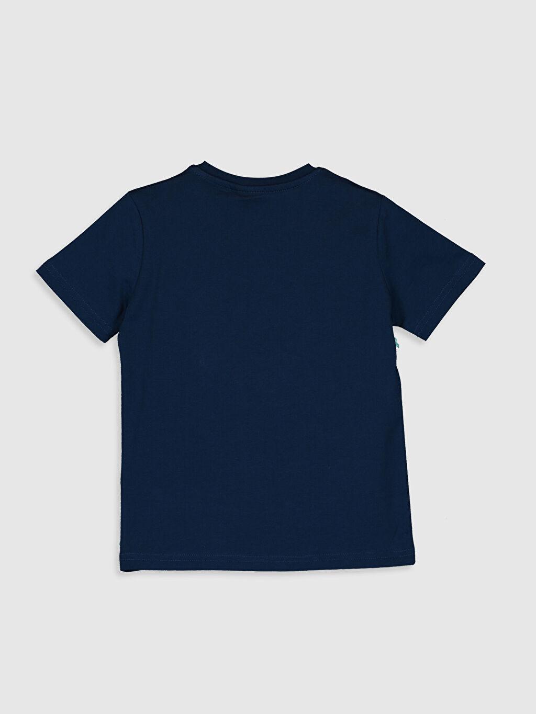 0SV631Z4 Erkek Çocuk Çift Yönlü Payetli Pamuklu Tişört