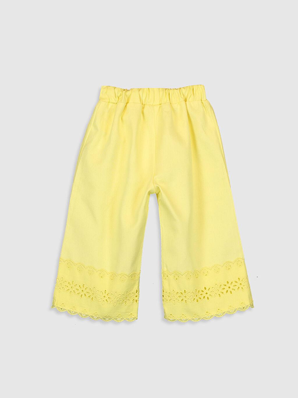 %100 Pamuk Gabardin Smart Casual Rahat Kalıp Diğer Pantolon Kız Bebek Pantolon