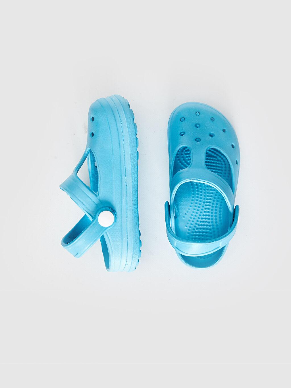 Diğer malzeme (eva) Işıksız Sandalet Tokalı Erkek Bebek Sandalet