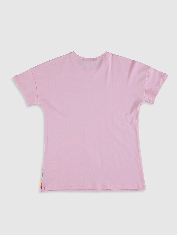 Kız Çocuk Kız Çocuk Baskılı Pamuklu Tişört