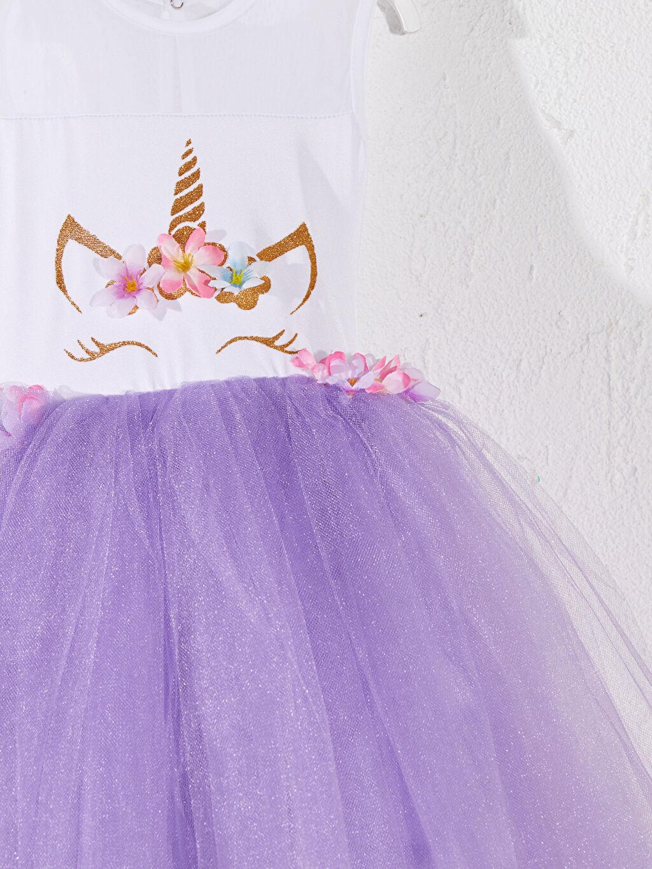 Kız Çocuk Tameris Kız Çocuk Baskılı Kostüm