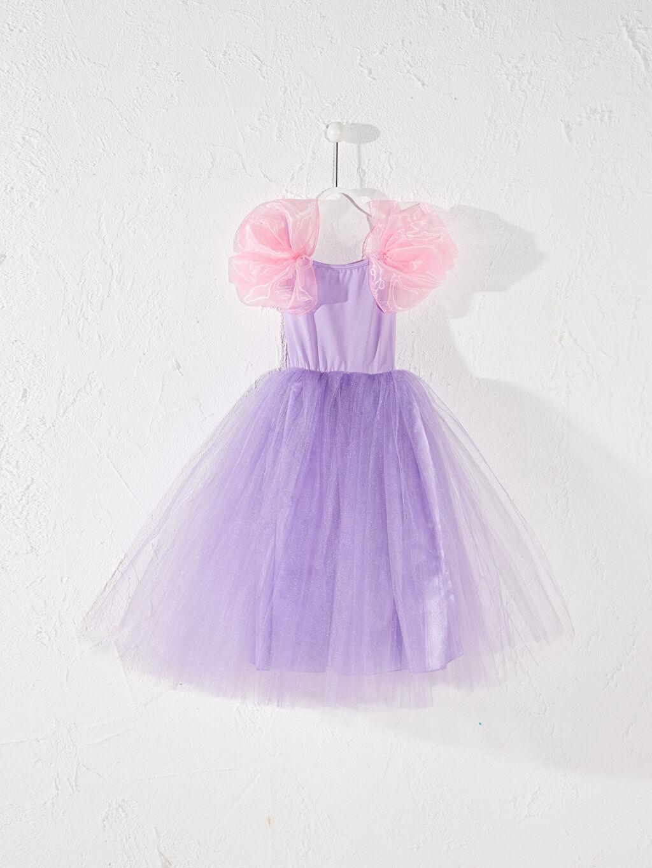 Uzun Düz Elbise Tameris Kız Çocuk Prenses Kostüm