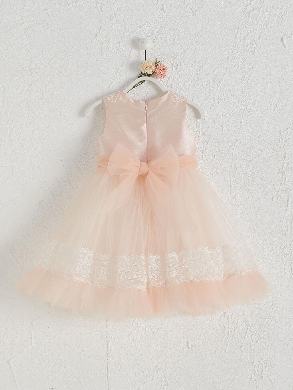 Baskılı Elbise Daisy Girl Kız Bebek Desenli Abiye Elbise