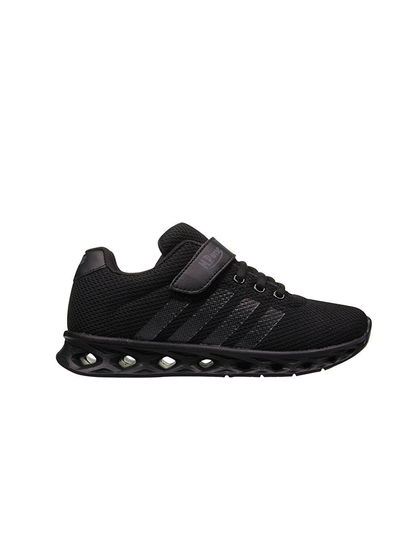 Siyah MP ONE Çocuk Cırt Cırtlı Spor Ayakkabı 0SAJ80Z4 LC Waikiki
