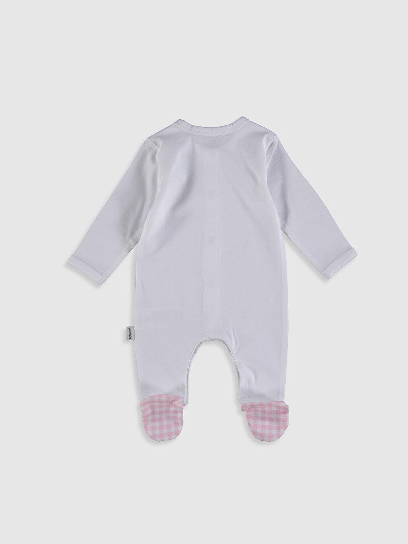 Erkek Bebek Antebies Organik Pamuklu Kız Bebek Patikli Tulum