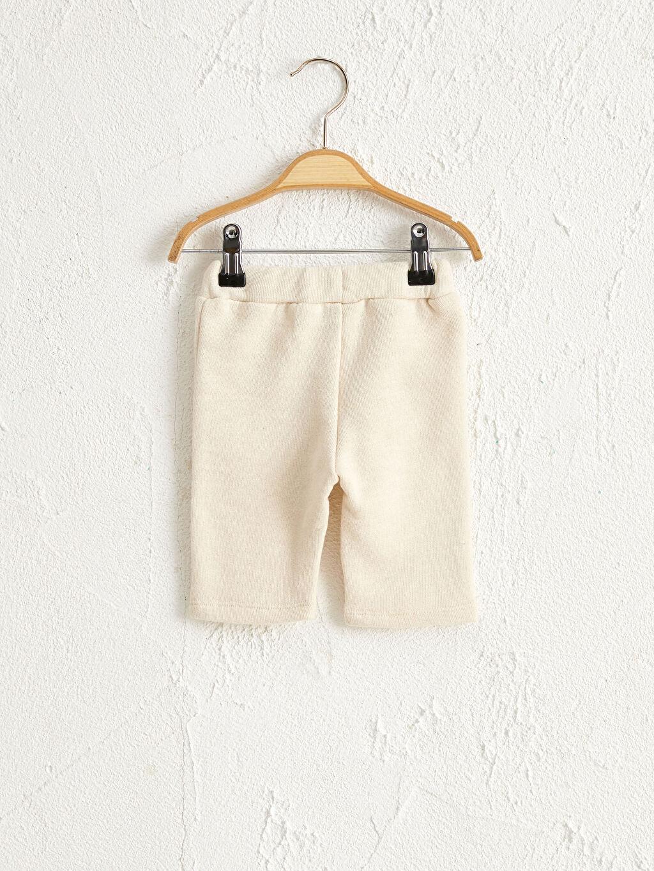 Organik Pamuk Eşofman Altı Antebies Organik Pamuklu Erkek Bebek Pantolon