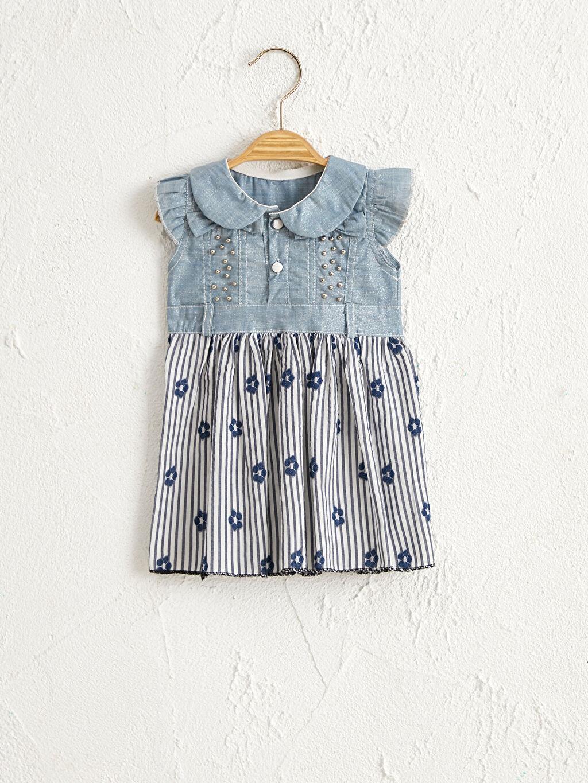 Kız Bebek By Leyal For Kids Kız Bebek Desenli Elbise