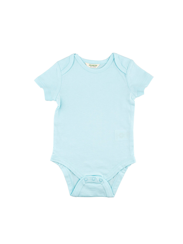 Mavi Organic Kid Organik Pamuklu Çıtçıtlı Body 0SAP18Z1 LC Waikiki