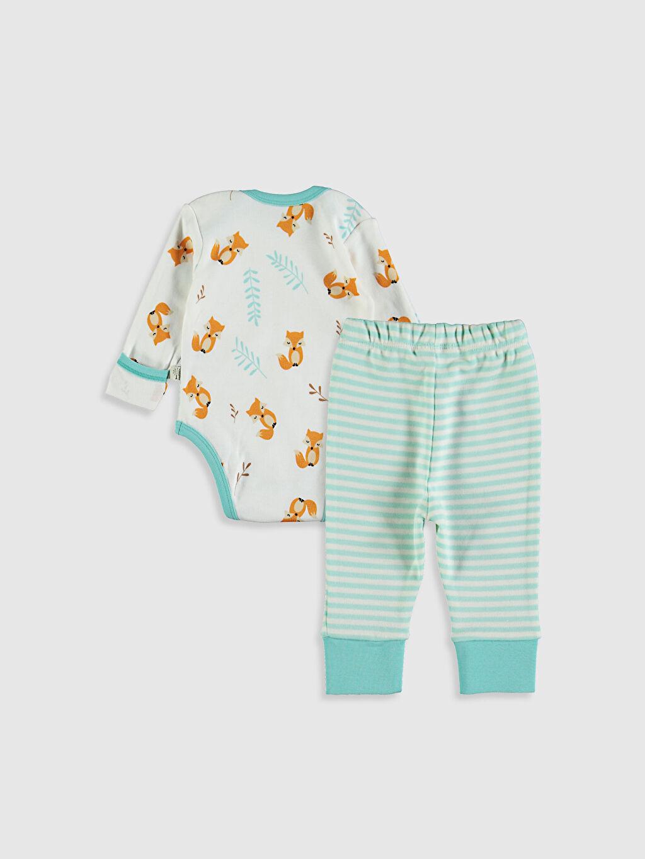 Organik Pamuk Takım Organic Kid Organik Pamuklu Baskılı Pijama Takımı