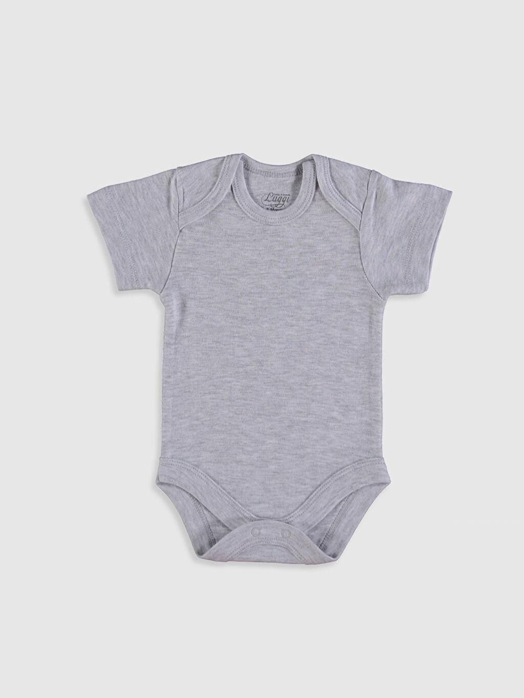 Ekru Luggi Baby Kız Bebek Çıtçıtlı Body 5'li