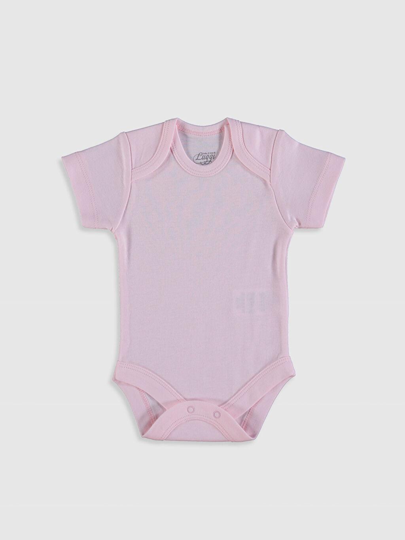 0SAQ09Z1 Luggi Baby Kız Bebek Çıtçıtlı Body 5'li