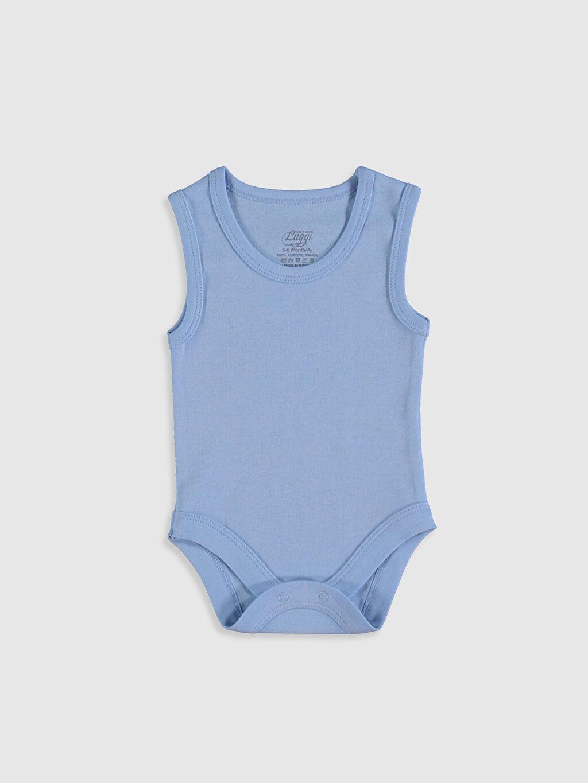 Erkek Bebek Luggi Baby Erkek Bebek Pamuklu Çıtçıtlı Body 5'li