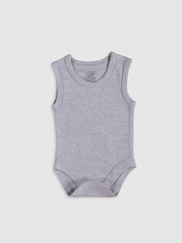 Luggi Baby Erkek Bebek Pamuklu Çıtçıtlı Body 5'li