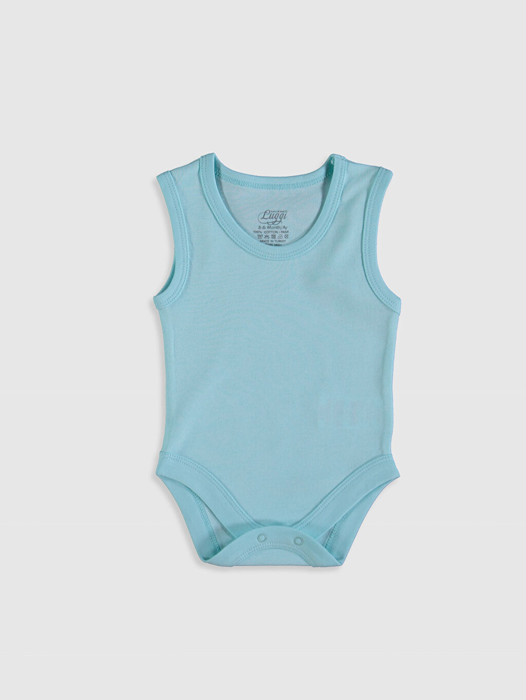 Ekru Luggi Baby Erkek Bebek Pamuklu Çıtçıtlı Body 5'li