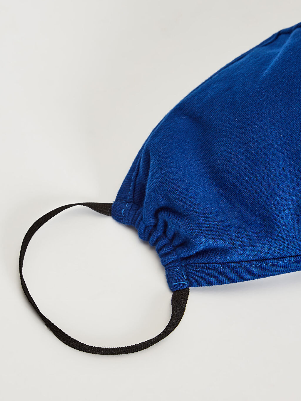 %96 Pamuk %4 Elastan Yıkanabilir Yüz Maskesi