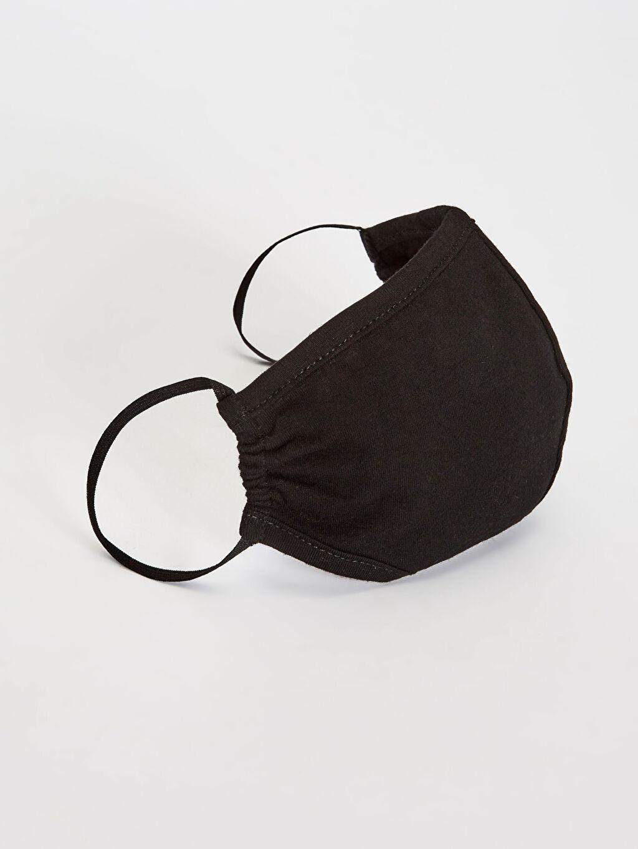 Siyah Yıkanabilir Yüz Maskesi 0SAQ26Z8 LC Waikiki
