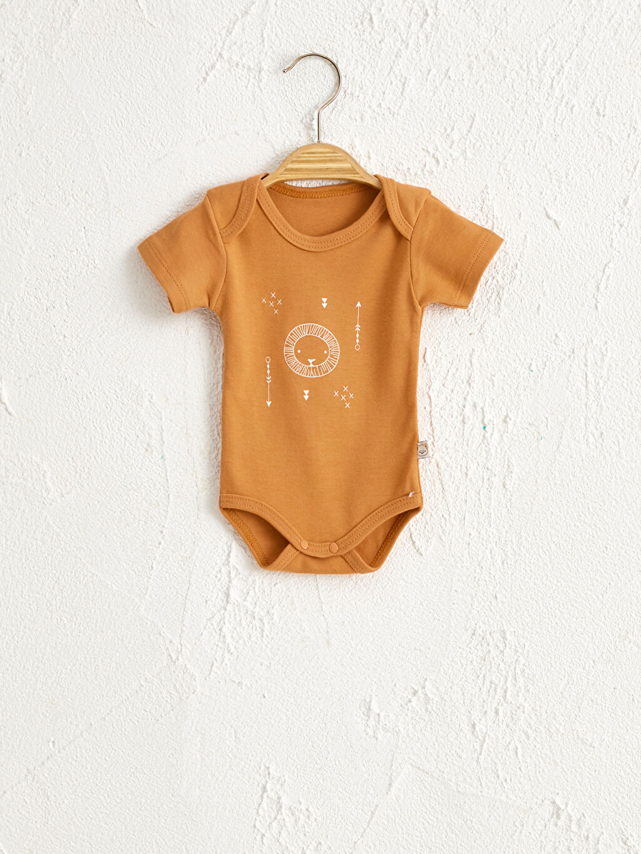 Erkek Bebek Minisse Yenidoğan Pamuklu Çıtçıtlı Body