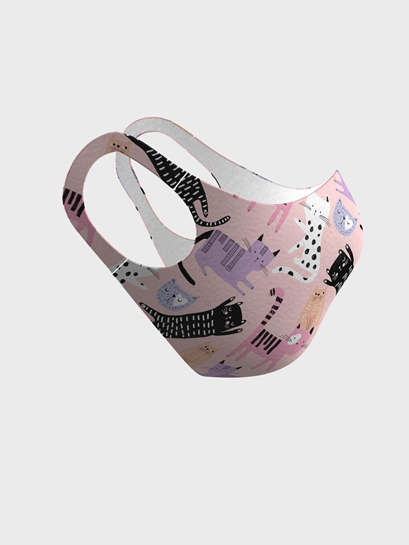 Kız Çocuk 8-14 Yaş Kız Çocuk Yıkanabilir Yüz Maskesi
