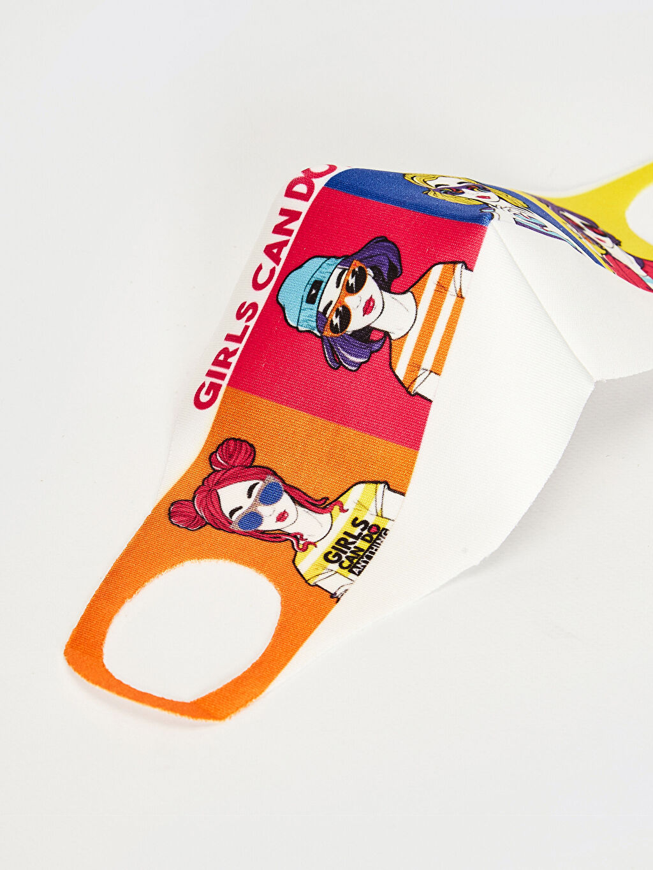 0SBA23Z4 8-14 Yaş Kız Çocuk Yıkanabilir Yüz Maskesi