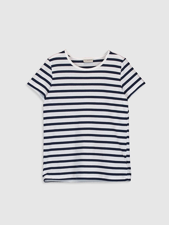 Kız Çocuk Pamuklu Tişört 3'Lü