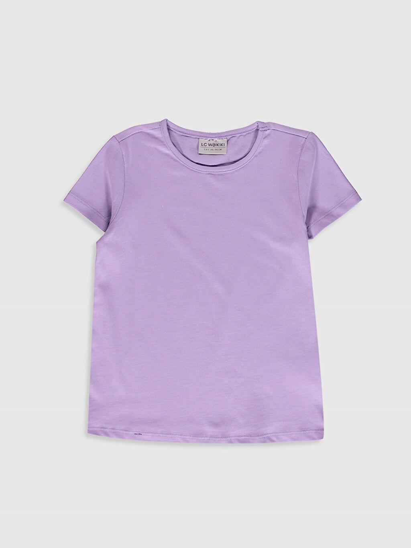 Kız Çocuk Pamuklu Basic Tişört 3'Lü