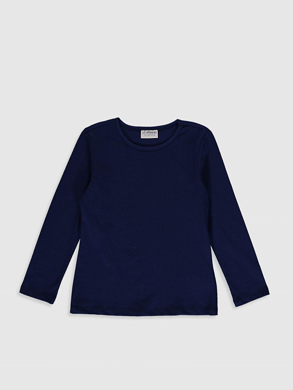 Kız Çocuk Kız Çocuk Pamuklu Basic Tişört 3'Lü