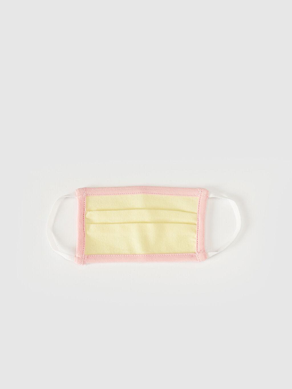Sarı 2-8 Yaş Kız Çocuk Yıkanabilir Yüz Maskesi 0SBC29Z1 LC Waikiki