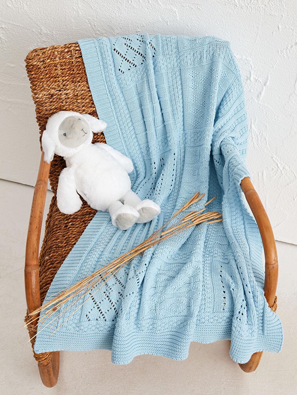 Mavi Luggi Baby Bebek Battaniyesi 0SBF81Z1 LC Waikiki