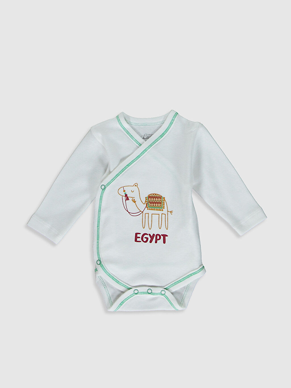 Erkek Bebek Luggi Baby Pamuklu Takım 2'Li