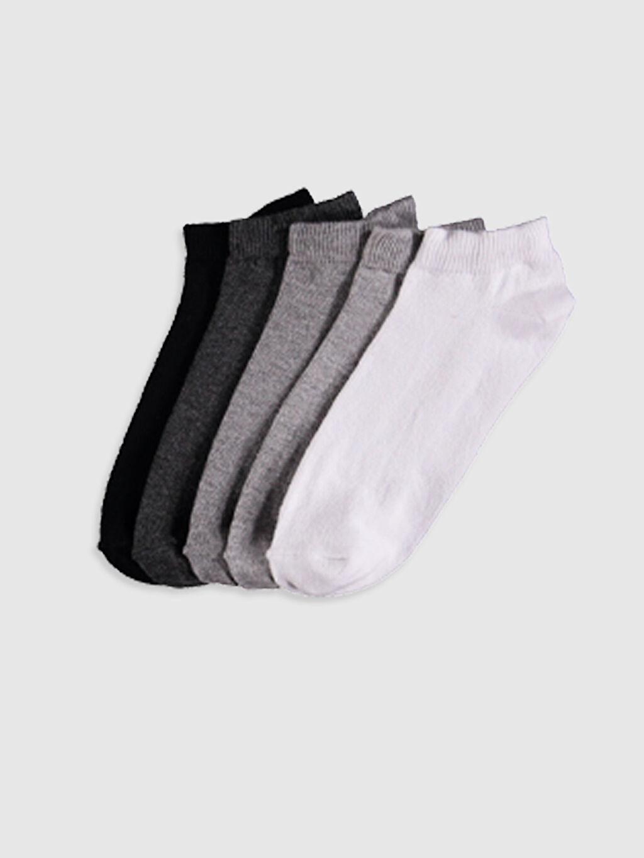 Çok Renkli Erkek Çocuk Patik Çorap 5'Li 0W1842Z4 LC Waikiki