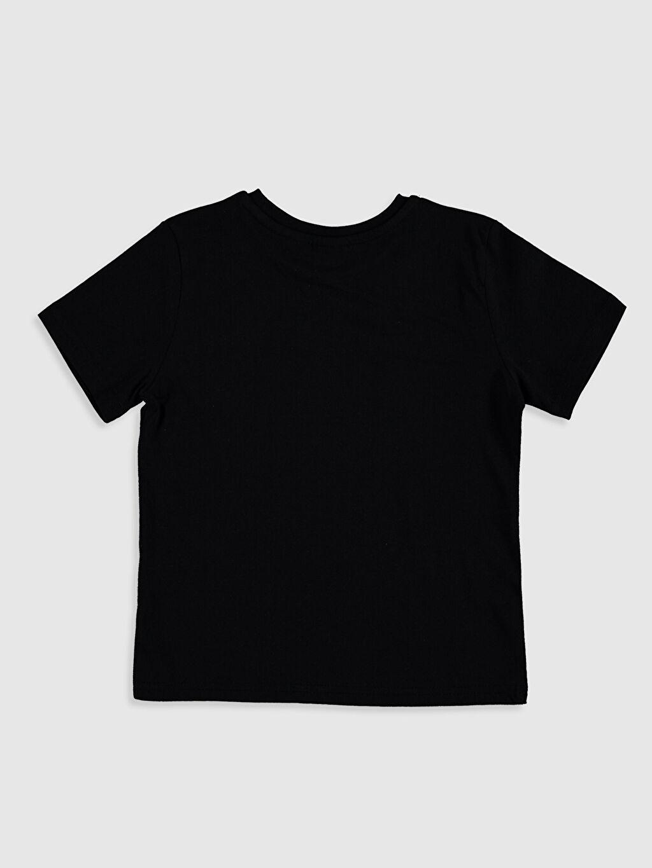 %100 Pamuk Düz Standart Tişört Bisiklet Yaka Kısa Kol Erkek Çocuk Pamuklu Basic Tişört