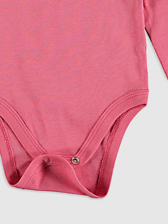 Gri Kız Bebek Unicorn Baskılı Çıtçıtlı Body 2'li