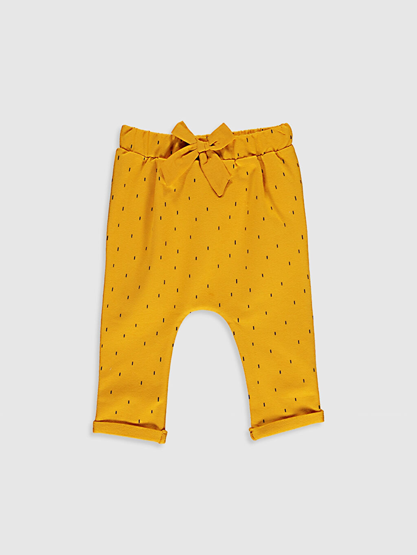 Sarı Kız Bebek Pantolon 0W3285Z1 LC Waikiki