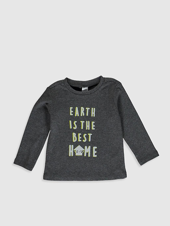 Erkek Bebek Erkek Bebek Baskılı Pijama Takım