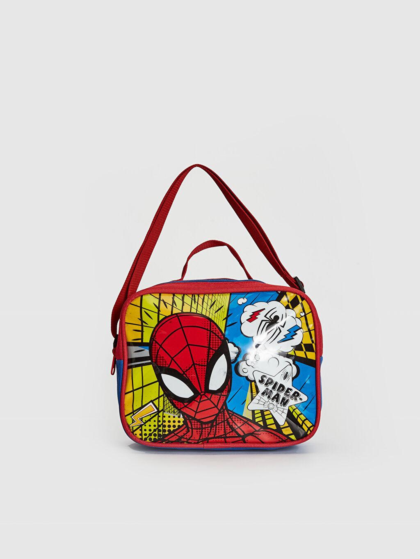 Kırmızı Erkek Çocuk Spiderman Beslenme Çantası 0W3698Z4 LC Waikiki