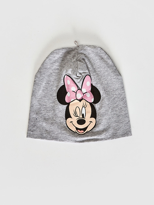 %95 Pamuk %5 Elastan %95 Pamuk %5 Elastan Bere Baskılı Penye Astar Mickey Mouse Süprem Kız Bebek Bere 2'Li