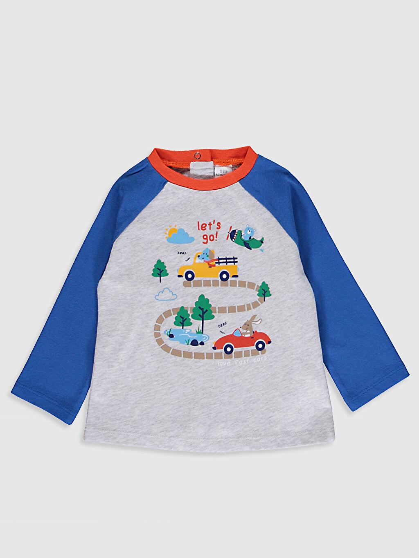 Erkek Bebek Erkek Bebek Baskılı Pijama Takımı