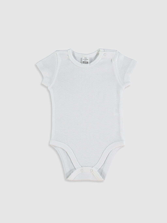 Erkek Bebek Kız Bebek Pamuklu Çıtçıtlı Body 2'li