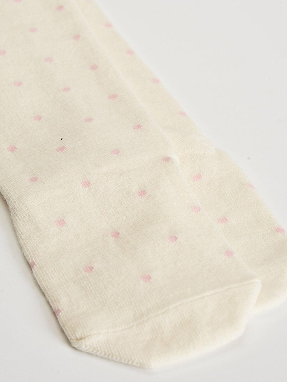 %60 Pamuk %12 Poliester %24 Poliamid %2 Metalik iplik %2 Elastan Orta Kalınlık Külotlu Çorap Dikişli Kız Çocuk Külotlu Çorap