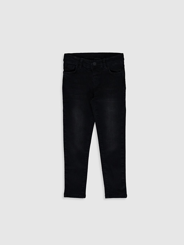 Siyah Erkek Çocuk Skinny Jean Pantolon 0WI224Z4 LC Waikiki